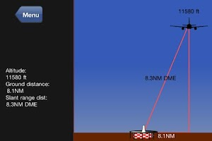 Screenshot of Nav Trainer Pro for Pilots