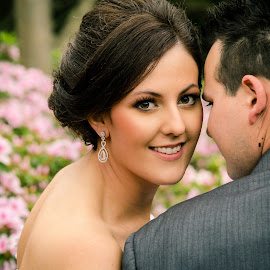 Bride by Brad N Sky Thomson - Wedding Bride ( #flowers, #happy, #love, #bride, #wedding )