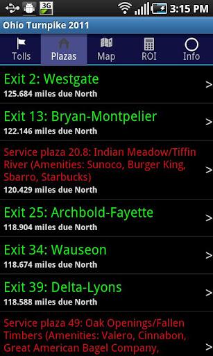 【免費旅遊App】Ohio Turnpike 2014-APP點子