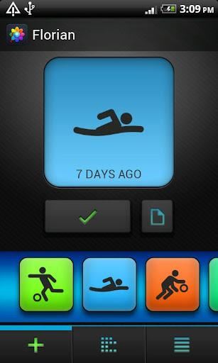Florian - sport activity diary