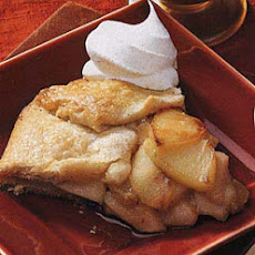 Pear and Apple Crostata with Five-Spice Whipped Cream