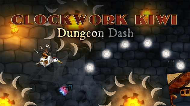 Clockwork Kiwi: Dungeon Dash apk screenshot