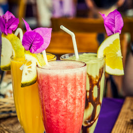 Fresh Assorted Fruit Juices by Irwan Budiarto - Food & Drink Alcohol & Drinks ( fruit, fresh, juice, dessert,  )