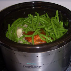 Ham, Green Beans and Potatoes (Crock Pot)
