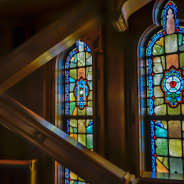Sky Chapel by Fred Faulkner - Buildings & Architecture Places of Worship ( church, sky chapel, chicago temple, architecture, chicago, stained glass )