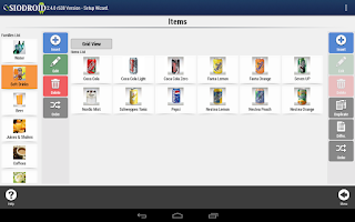 Screenshot of SIODROID Point of Sale (DEMO)