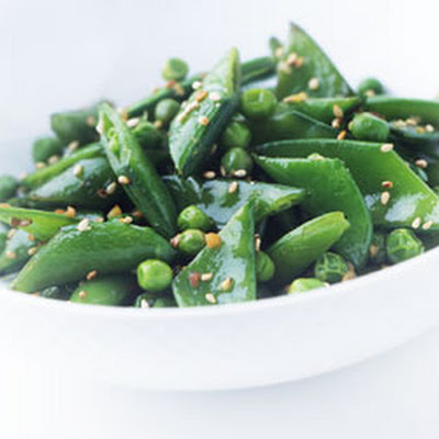 Three Pea Stir-Fry