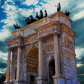 Arch of Peace by Vernon Mata - Buildings & Architecture Public & Historical