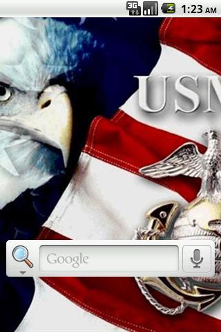 美海軍陸戰隊現場長城。