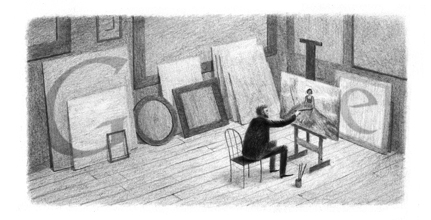 Google Doodle Max ?vabinsk?'s 140th Birthday