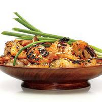 Grilled Five-Spice Shrimp