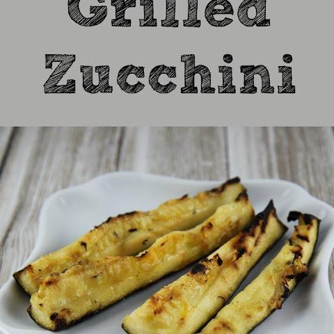 Grilled Zucchini with Yummy Lemon Salt Recipe | Yummly