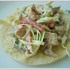 Chicken Salad Tacos