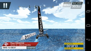 Screenshot of America's Cup - Speed Trials