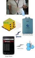 Screenshot of Portable RFID Reader via BT