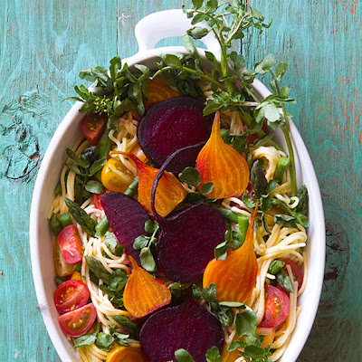 Pasta Primavera with Beets