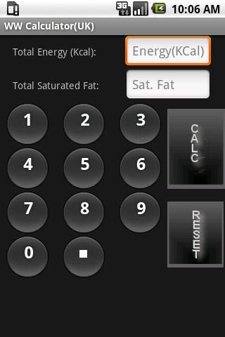 WW Calculator UK