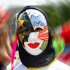Mascara de Carnaval by Claudio Maranhao - People Musicians & Entertainers ( carnavaldepernambuco )