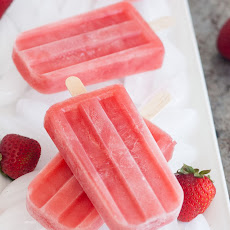 Strawberry-Watermelon Popsicles