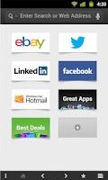 Screenshot of Super Fast Browser