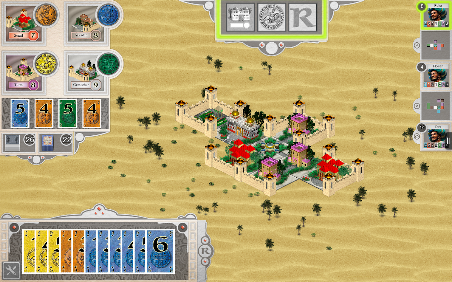 Alhambra Game Screenshot 6