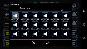 Screenshot of BoomBox - Drum Computer