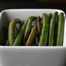 Maple Glazed green Beans