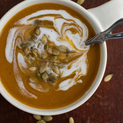 Vegan Butternut Squash Soup with Garam Masala