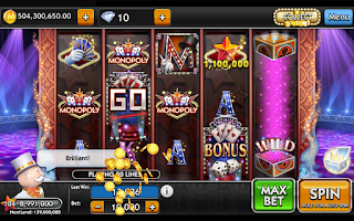 Screenshot of MONOPOLY Slots