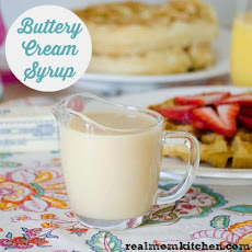 Buttery Cream Syrup