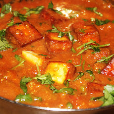 Spicy Paneer Masala Balti