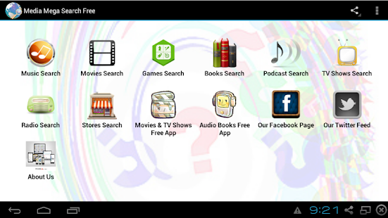 Media Simple Search Free - screenshot