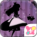 Free Alice's Nighttime Tea Theme APK for Windows 8