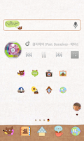 Screenshot of Honey Bear Dodol Theme
