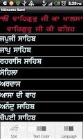 Screenshot of Nitname Bani - Sikh Prayers