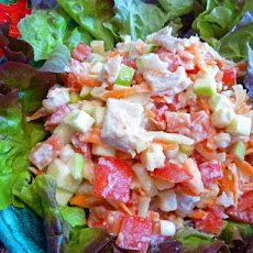 Pacific Island Fish Salad