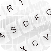 Free Pure White Keyboard Themes APK for Windows 8
