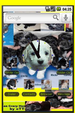 【免費個人化App】Puppy Dog Theme Panda-Open-APP點子