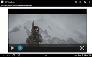 Screenshot of Web Video Caster (Chromecast)
