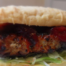 Turkey Burgers and Cranberry Catsup