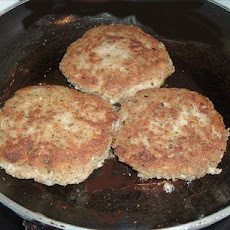 Chicken and Rice Rissoles