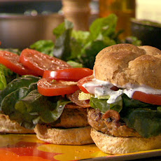 Open Wide! Tur-Chicken Club Burgers