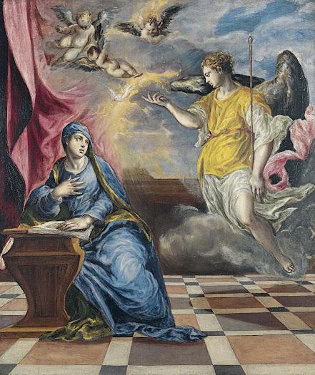 El Greco, Annunciazione