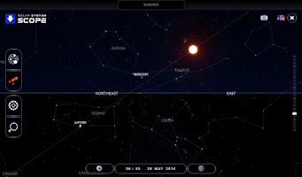 Screenshot of Solar System Scope