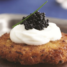 Latkes with Caviar and Cream From 'Joy of Kosher'