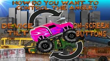 Screenshot of Monster Truck Junkyard NO ADS