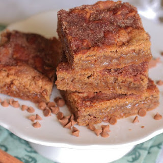 Brown Sugar Cinnamon Sugar Cookie Bars