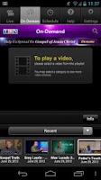 Screenshot of TBN: Watch TV Shows & Live TV