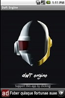 Screenshot of Daft Engine (with Backingbeat)