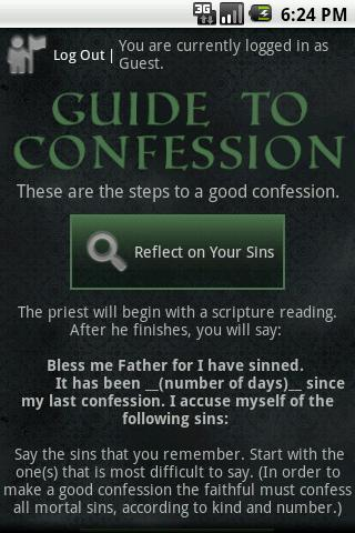 Guide to Confession